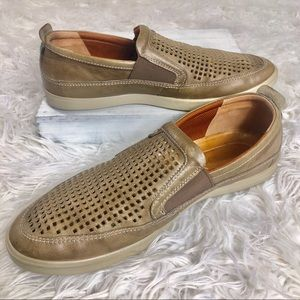 ECCO® Collin Perforated Slip-On Sneaker Sz 12